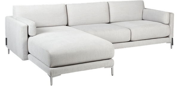 Phenomenal District Dove 2 Piece Sectional Sofa Fabric Finley Dove Short Links Chair Design For Home Short Linksinfo
