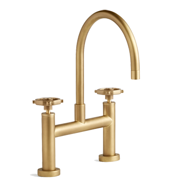 Tolson Kitchen Faucet, Aged Brass
