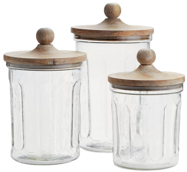 3 Piece Kitchen Canister Set Decorist
