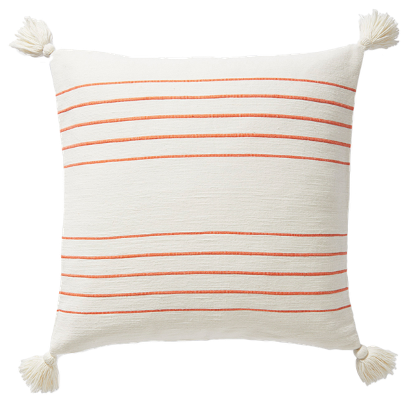 Del Mar Pillow Cover Papaya 20 X20 Decorist