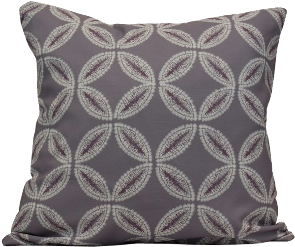 Tufted Chenille Square Throw Pillow In Navy Decorist