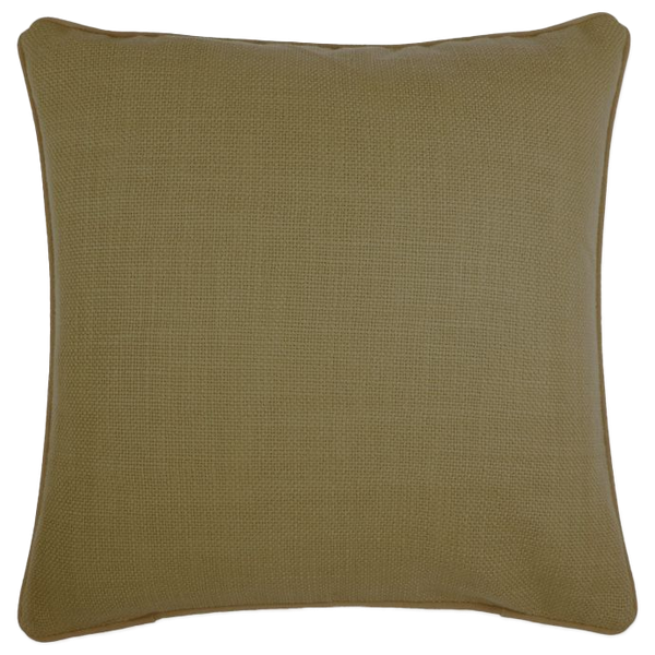 Make Your Own Pillow Dana 20 Inch X 20 Inch Throw Pillow Cover In Olive Decorist