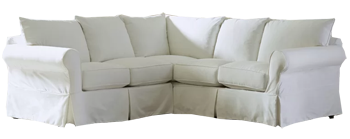 Amazing Jameson Slipcovered Symmetrical Sectional Classic Beach White Bralicious Painted Fabric Chair Ideas Braliciousco