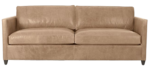 Pleasant Dryden Leather Queen Sleeper Sofa Libby Mushroom Onthecornerstone Fun Painted Chair Ideas Images Onthecornerstoneorg