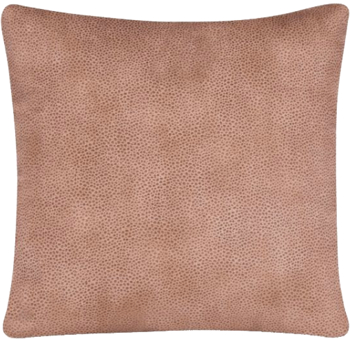 Glenna Jean Cape Town Faux Leather Square Throw Pillow In Tan Decorist