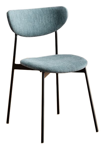 Modern Petal Upholstered Dining Chair Decorist