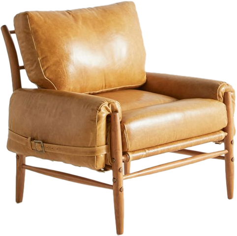 Strange Rhys Chair Premium Leather In Lager Wood In Walker Bralicious Painted Fabric Chair Ideas Braliciousco