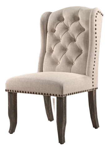 Calila Upholstered Dining Chair Set Of 2 Decorist