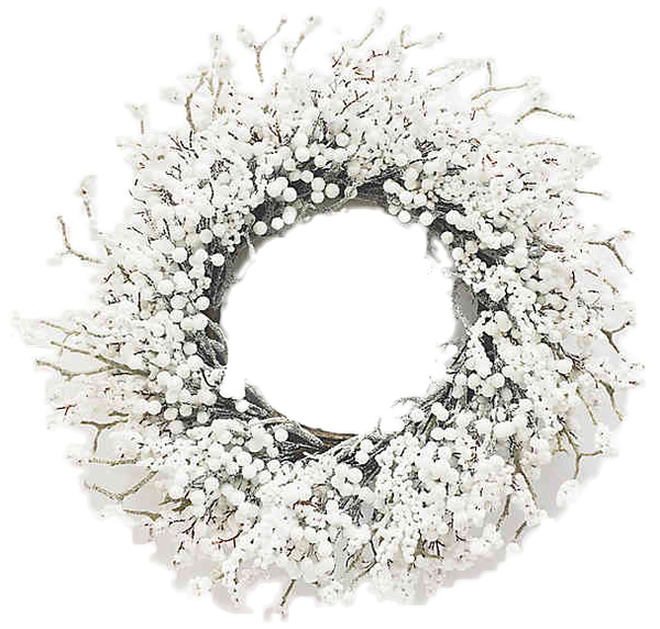 bee willow home 30 inch berry artificial christmas wreath in white decorist bee willow home 30 inch berry artificial christmas wreath in white