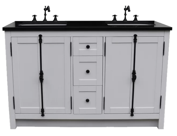 Coby 55 Double Bathroom Vanity Set