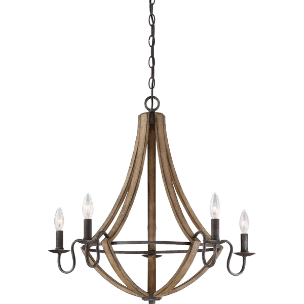 Reimers 5 Light Unique Statement Tiered Chandelier Decorist