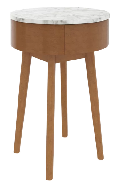 Charley End Table With Storage Decorist