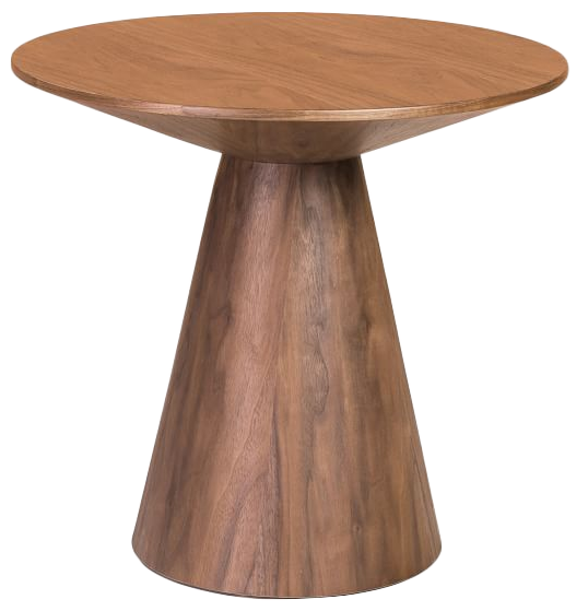 Proctor Low Round Wood Coffee Table Decorist