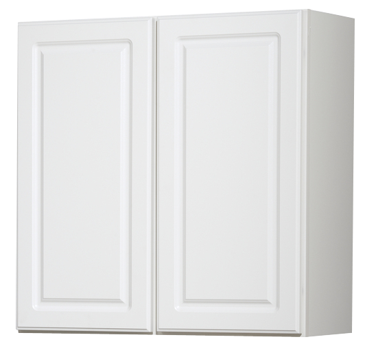 Kitchen Classics Concord Finished White Double Door Kitchen Wall Cabinet Decorist