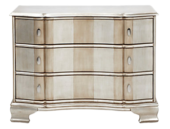 Audrey 3 Drawer Chest Decorist