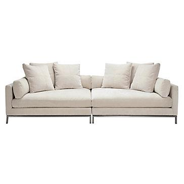 Ventura 2pc Extra Deep Sofa Decorist