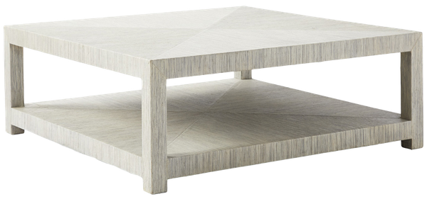 Outstanding Blake Raffia Square Coffee Table Fog Pabps2019 Chair Design Images Pabps2019Com