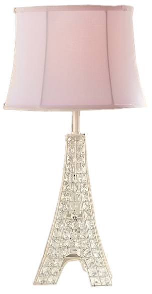 Glowing Crystal Eiffel Tower Lamp | Decorist