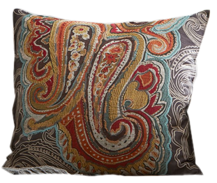 Houston Paisley Pillow Cover Decorist