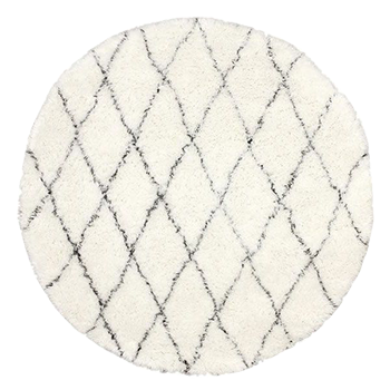6 Round Tuscan Moroccan Rug
