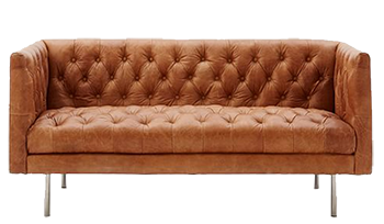 Astounding Modern Chesterfield Leather Loveseat Sienna Caraccident5 Cool Chair Designs And Ideas Caraccident5Info