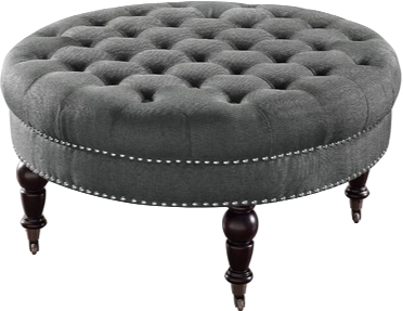 Cool Gahn Round Tufted Ottoman Caraccident5 Cool Chair Designs And Ideas Caraccident5Info