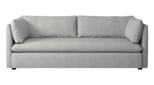 best loved 6ae26 e4938 Shelter Sleeper Sofa - Heathered Crosshatch, Feather Gray