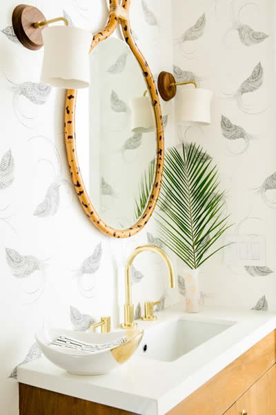 Powder Room by Claire