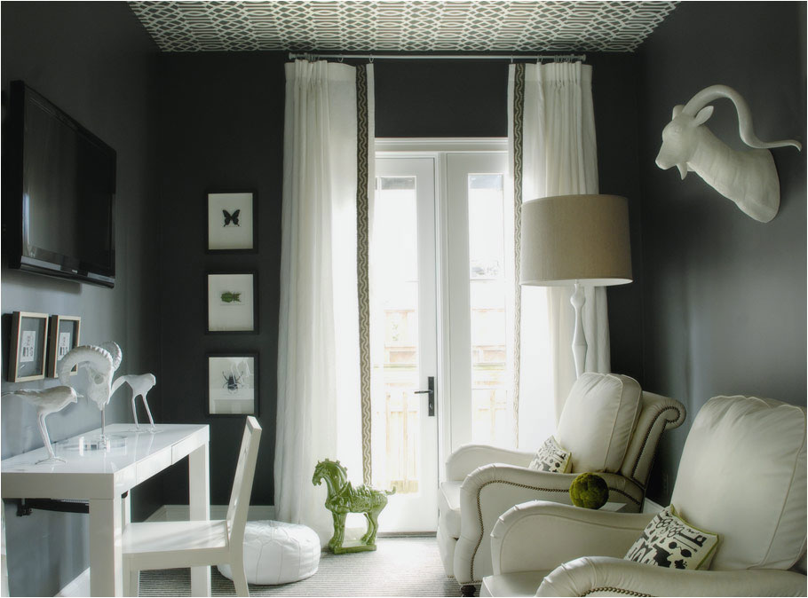 Curtains With Dark Gray Walls