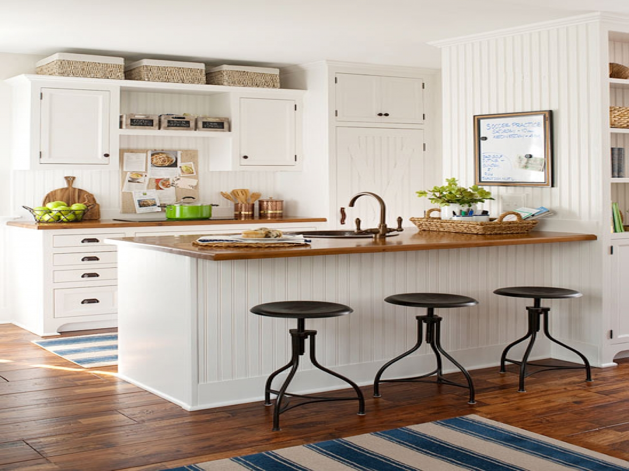 How Do I Decorate Above Kitchen Cabinets I Have At Least 4 To The